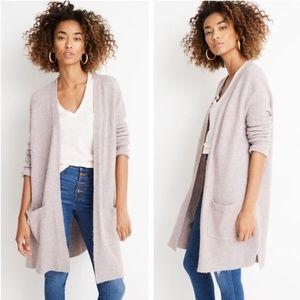 Madewell Women's Kent Cardigan Wool Blend Sweater